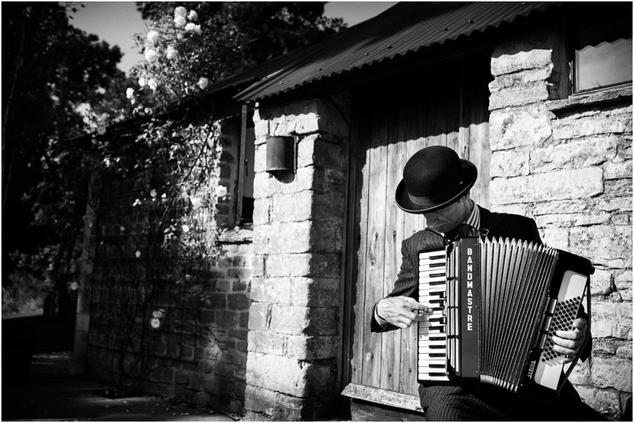 wedding accordion player