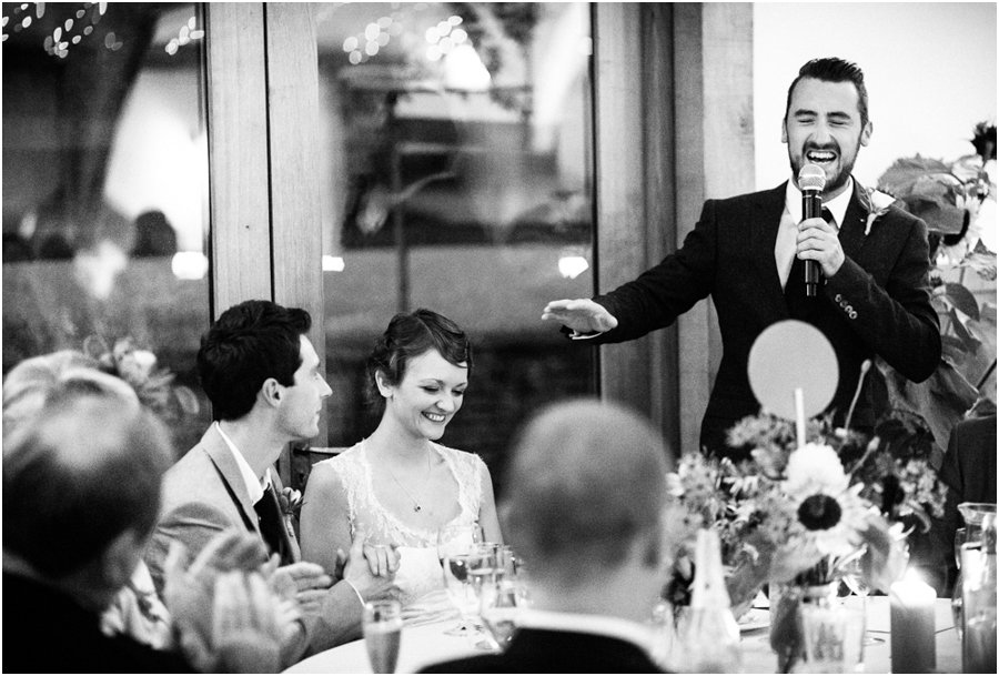 Cripps Barn Wedding speeches
