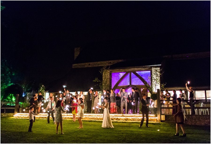 wedding sparklers cripps barn