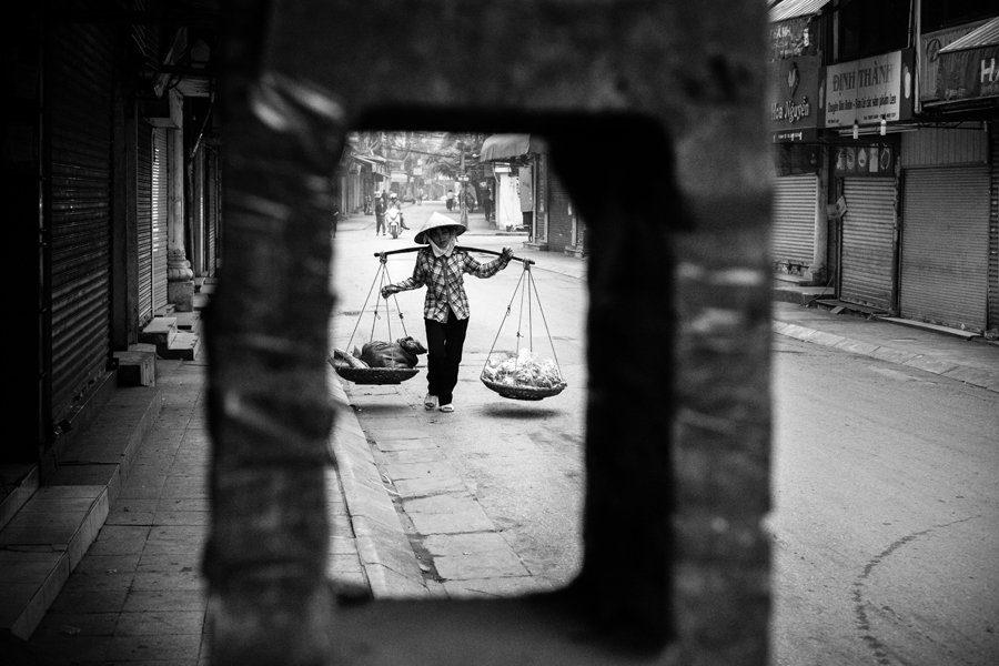 Hanoi street seller