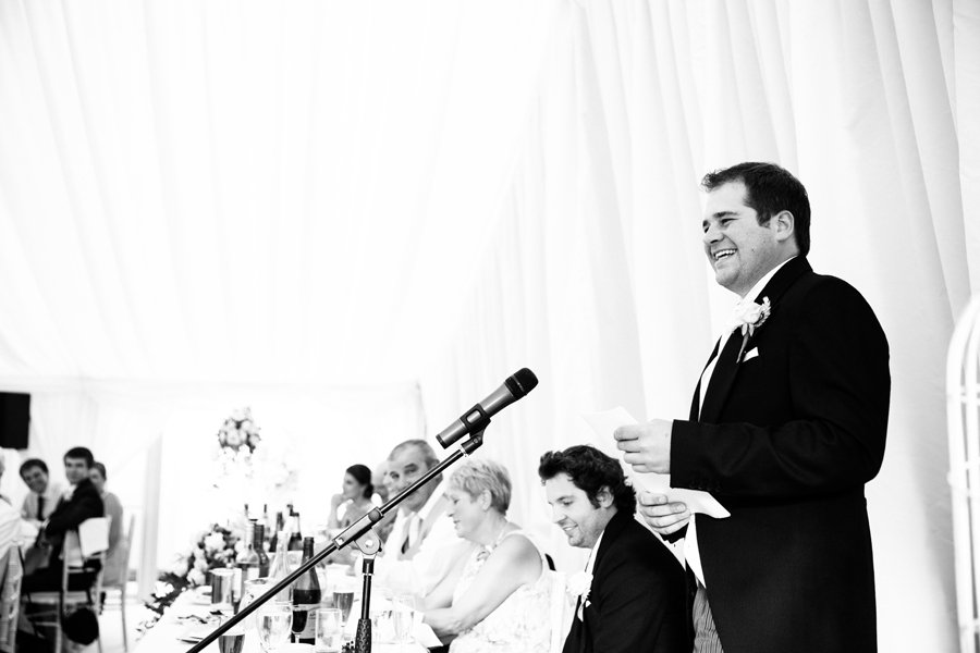 speech by groom