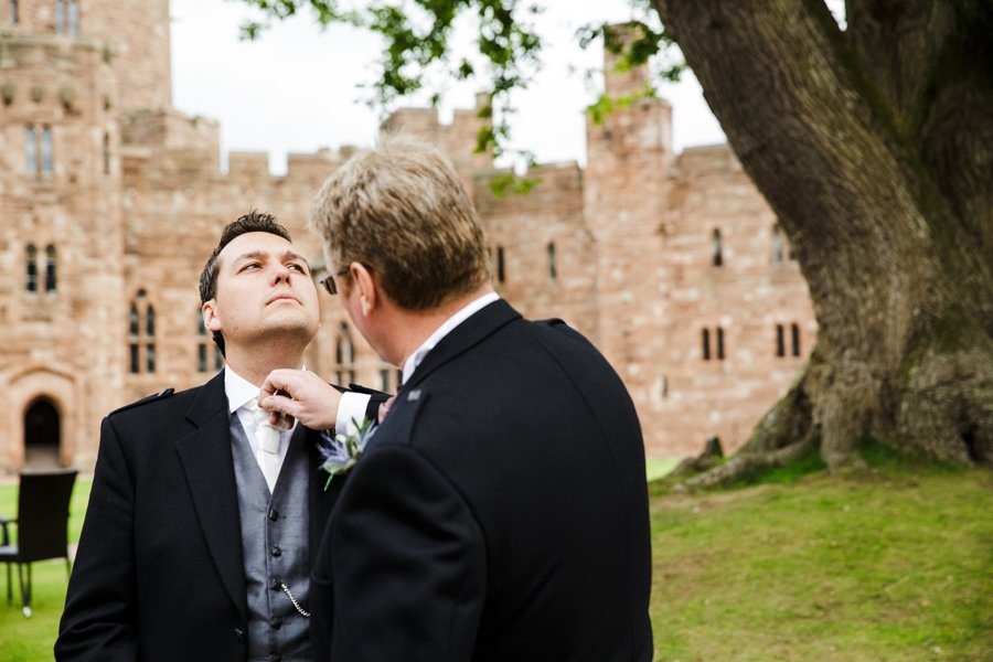 groom peckforton castle
