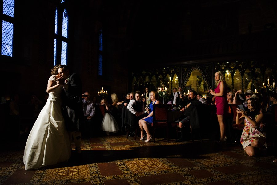first dance peckforton castle